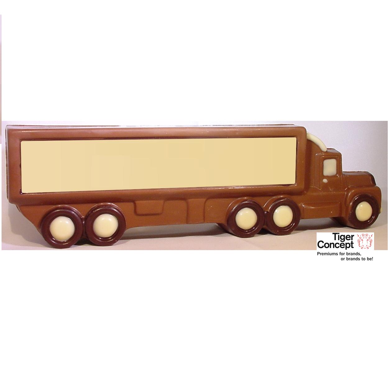 Chocolade vrachtwagen als relatiegeschenk