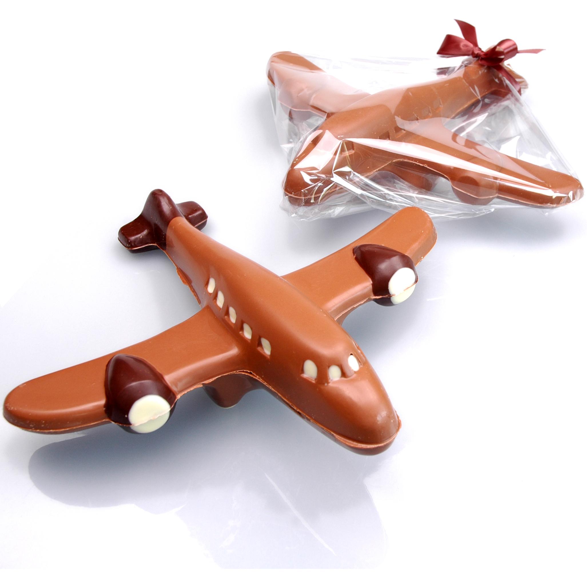 Chocolade vliegtuig als relatiegeschenk