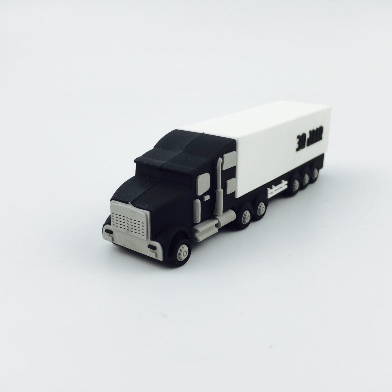 USB-stick vrachtwagen als relatiegeschenk