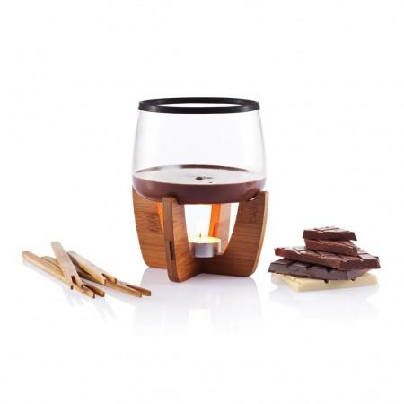 chocolade fondue set relatiegeschenk