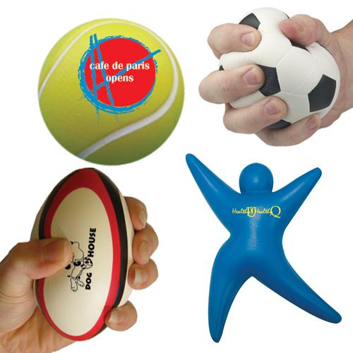 Anti-stress items sport als relatiegeschenk