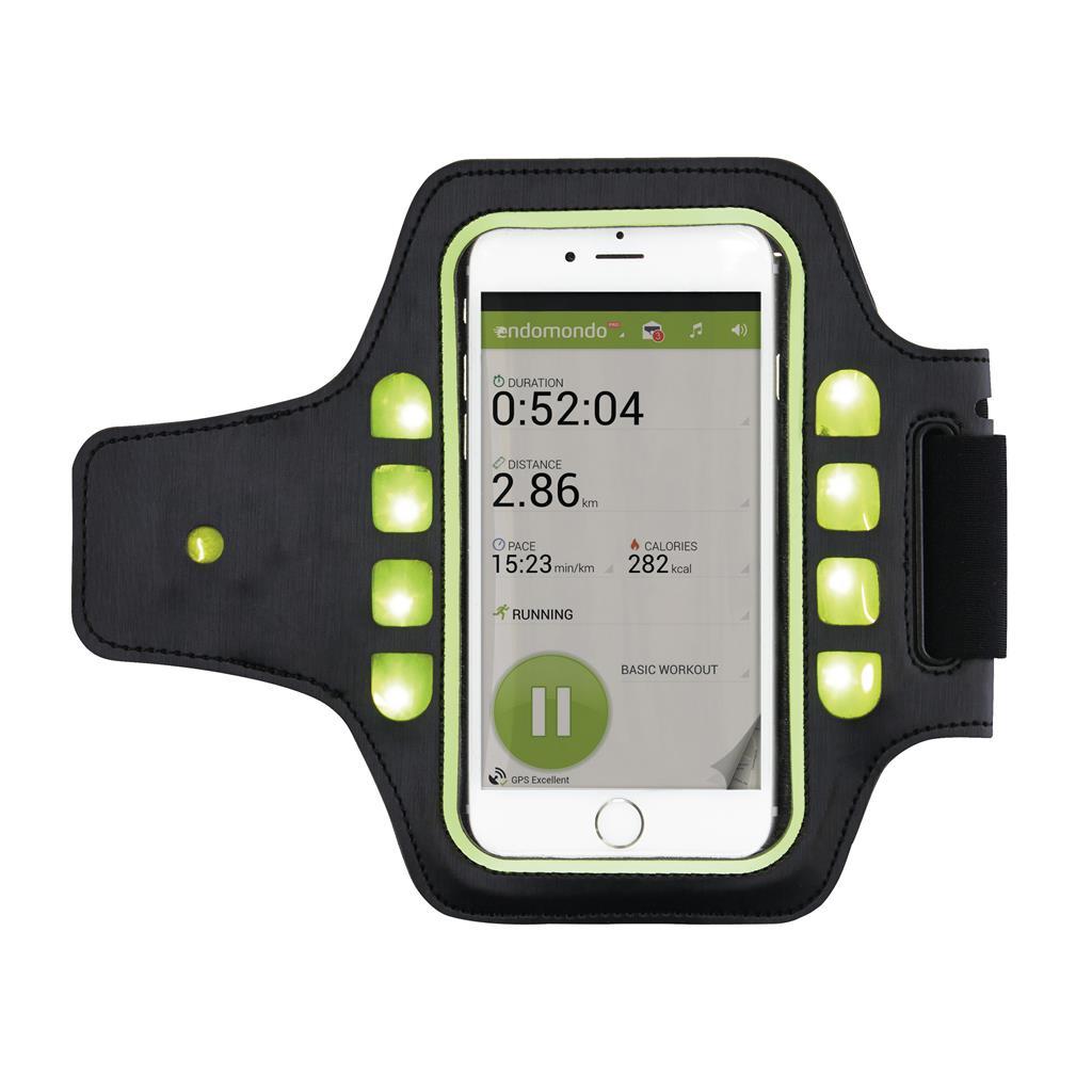 Sport armband LED als relatiegeschenk