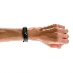 Activity tracker met bloeddrukmonitor