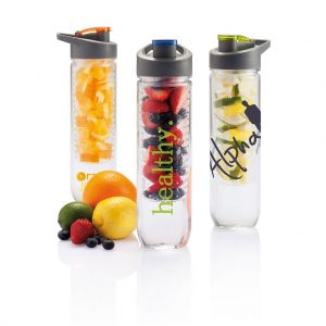 Tritan waterfles met infuser