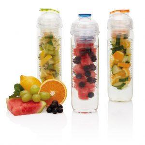 De meest populaire bedrukte 500ml waterfles met infuser met fruit