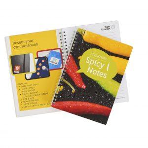 A5 ringband notitieboekje als relatiegeschenk