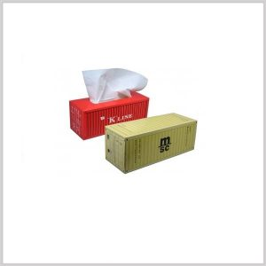 tissue doos in container vorm