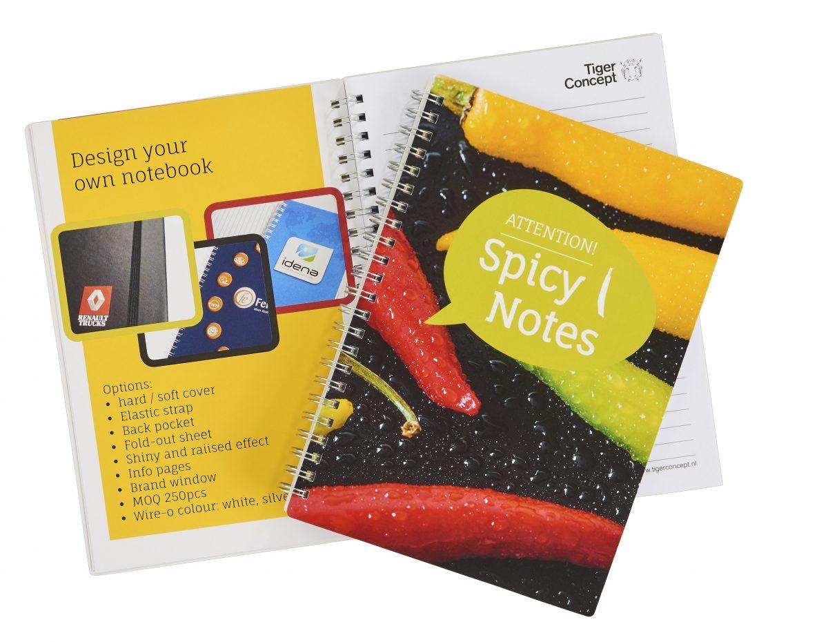 A5 ringband notitieboekje naar eigen ontwerp
