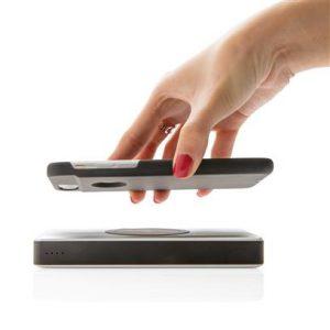 bedrukte iphone case voor draadloos opladen