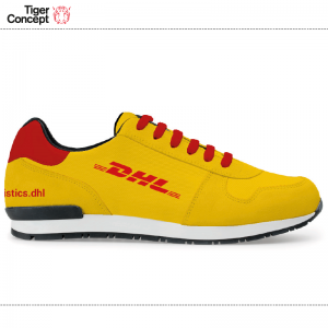 DHL sneaker red yellow