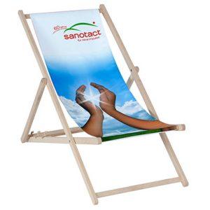 strandstoel met full colour bedrukking al vanaf 10 stuks
