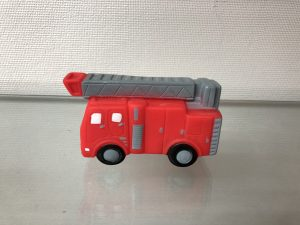 speelgoedauto brandweer bedrukt