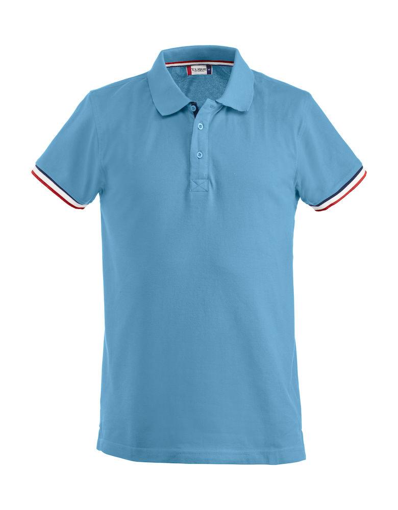T-shirt Newton blue als relatiegeschenk