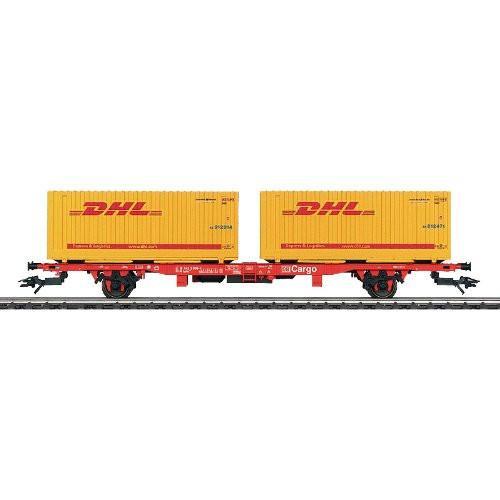 DHL trainwagon als relatiegeschenk