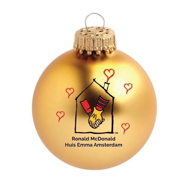 Ronald McDonald geschenken bedrukt met logo als relatiegeschenk