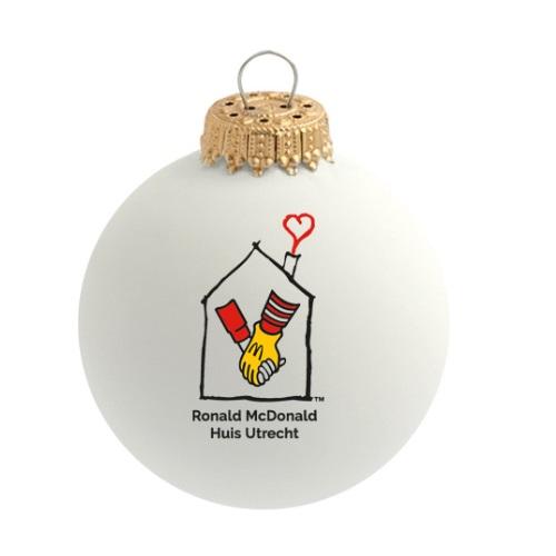 Ronald McDonald geschenken bedrukt met logoals relatiegeschenk