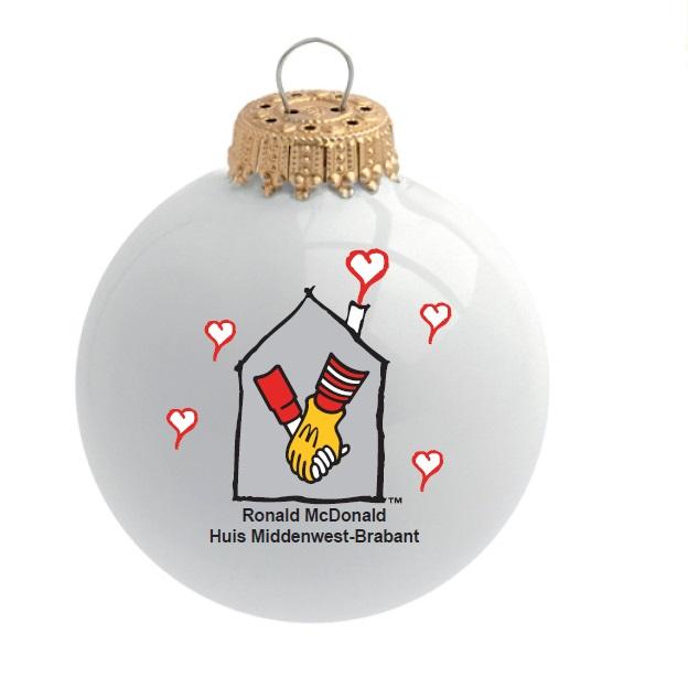 Ronald McDonald geschenken bedrukt met logo