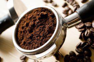 Duurzame notieiteboekje gemaakt van  koffiedrek met logo