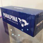 Tissue container Panalpina logo