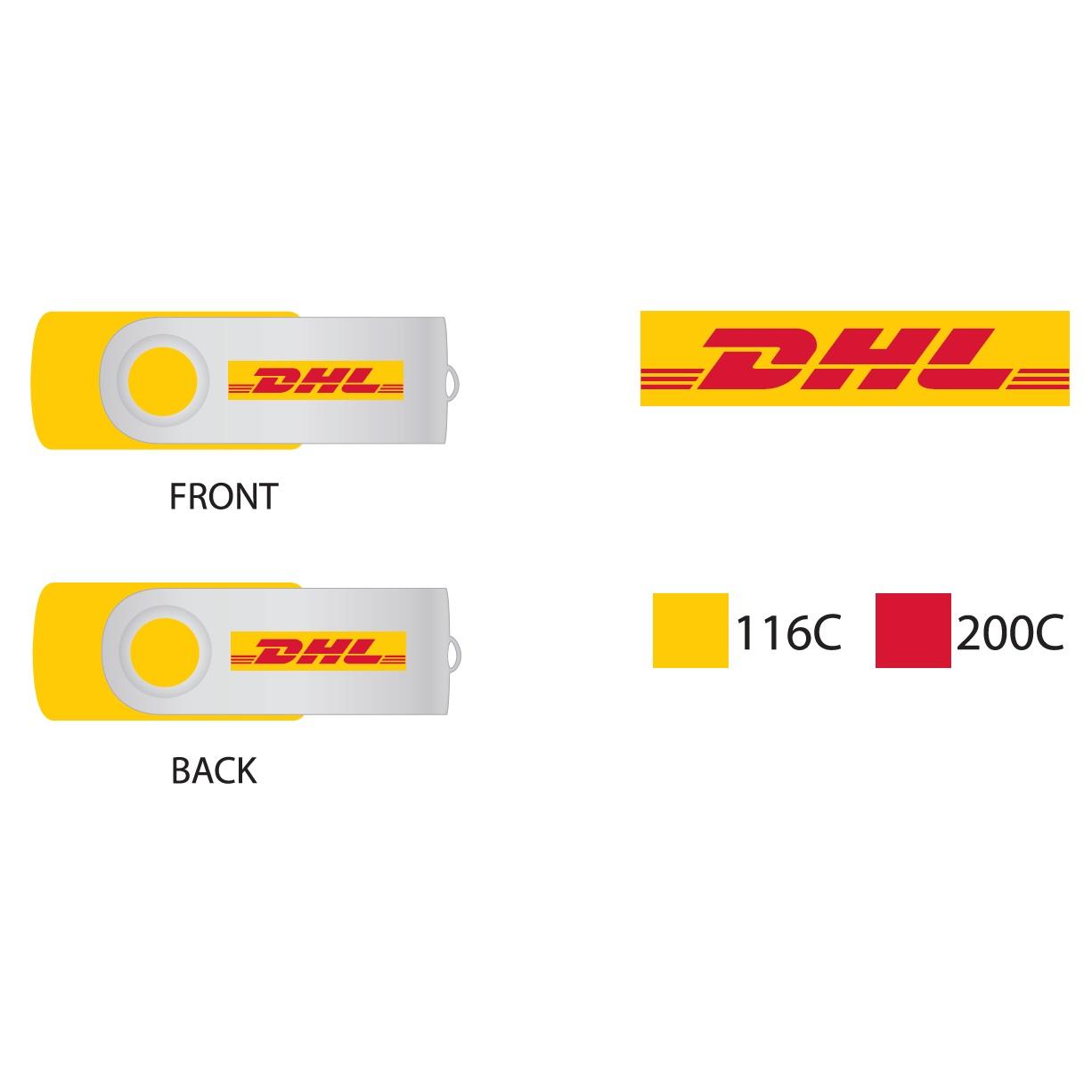 USB-stick DHL Twister
