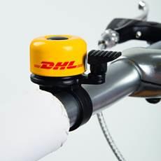 DHL fietsbel als relatiegeschenk