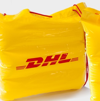 DHL opblaastas
