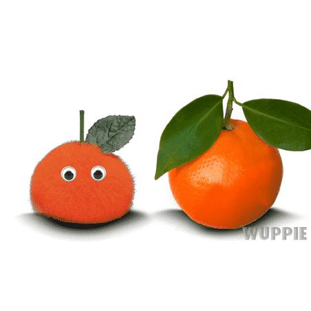 Wuppie fruit als relatiegeschenk