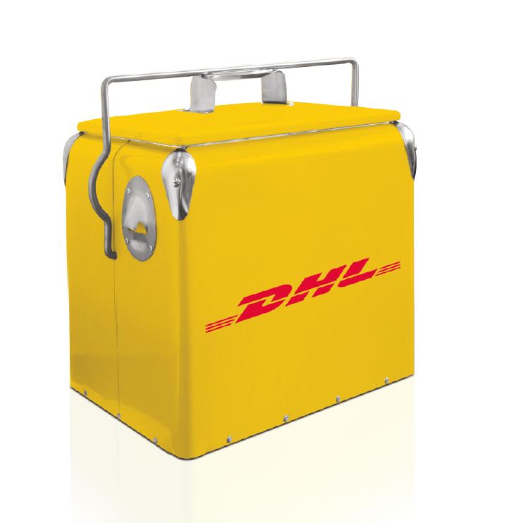 DHL REtro koelbox