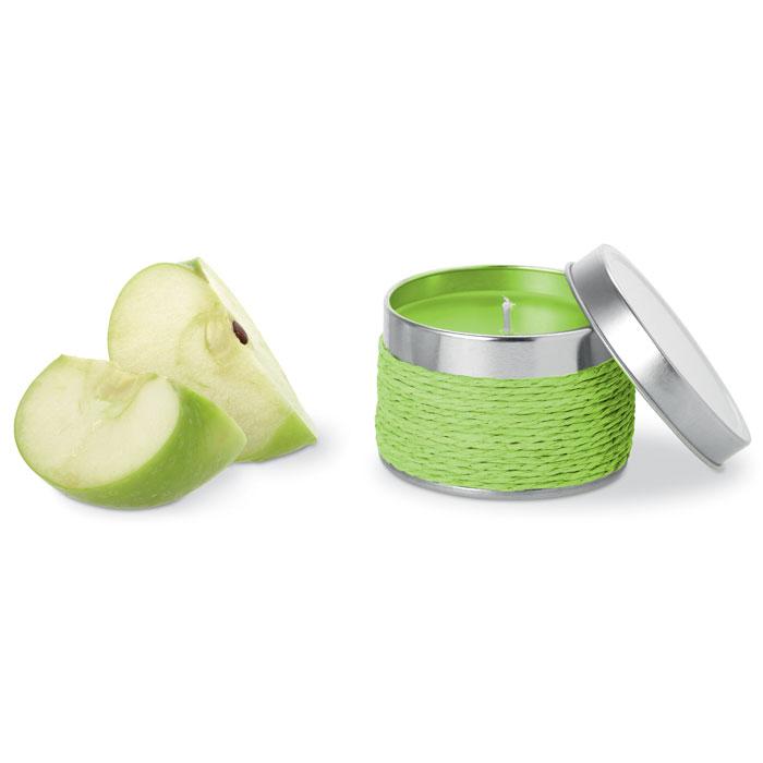 Geurkaars appel met logo