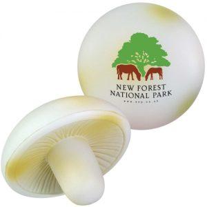 stressbal champignon met logo