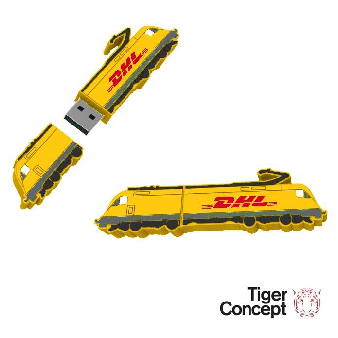 DHL USB-stick trein