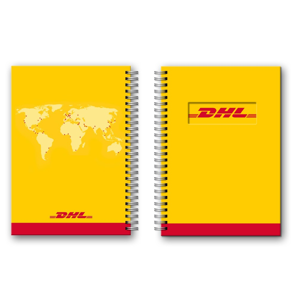 DHL A5 notitieboekjes naar eigen ontwerp