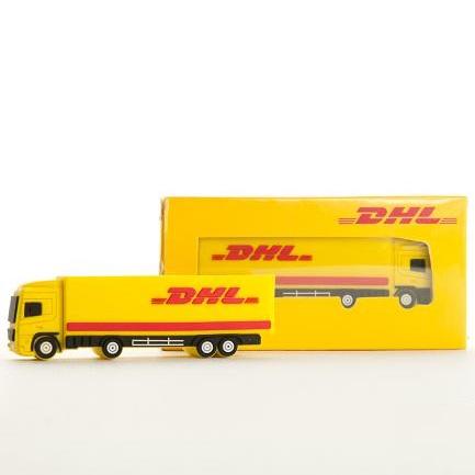 DHL USB-stick vrachtwagen