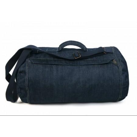 Denim 'Duffle Bag' Was effect. 100% Katoen