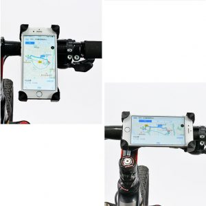 mobile stand for bicycle with logo