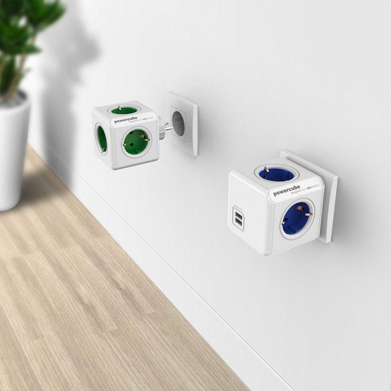 Power cube als relatie- geschenk bedrukt met logo