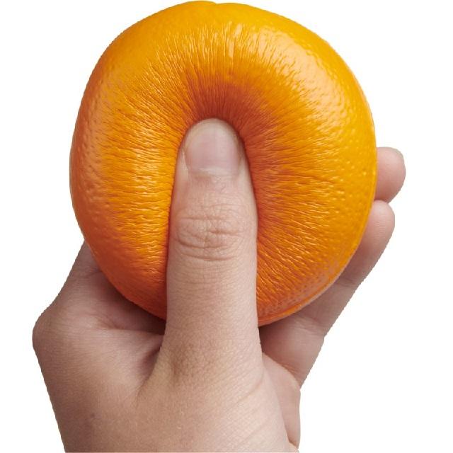 Slow-rise sinaasappel  met logo bedrukken