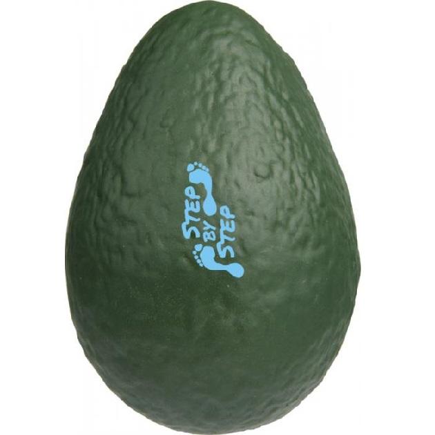 Slow-rise stressverlagende avocado met logomet logo bedrukken