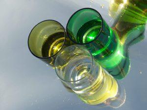 Duurzaam glas met logo