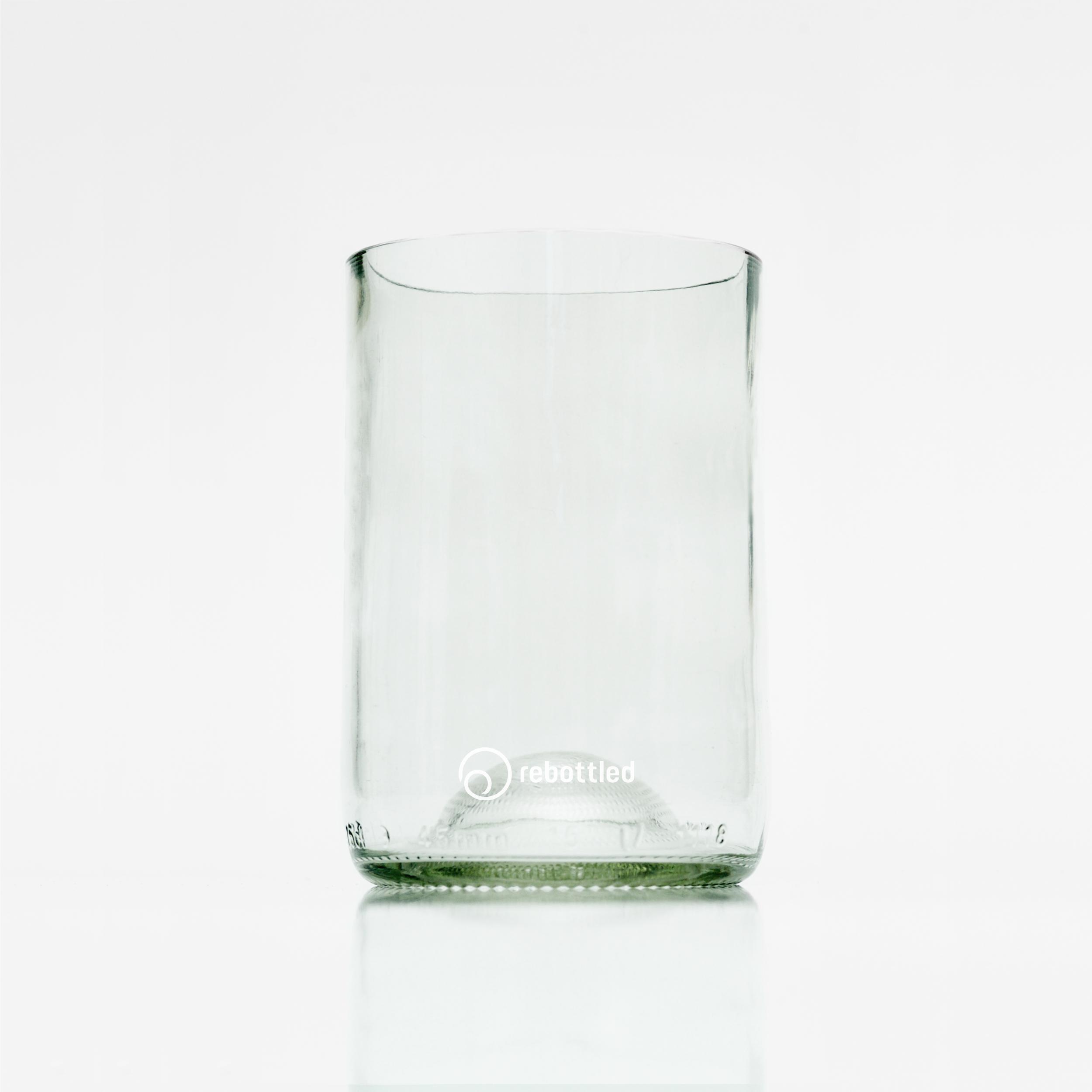 Duurzame hand gemaakte glazen met logo