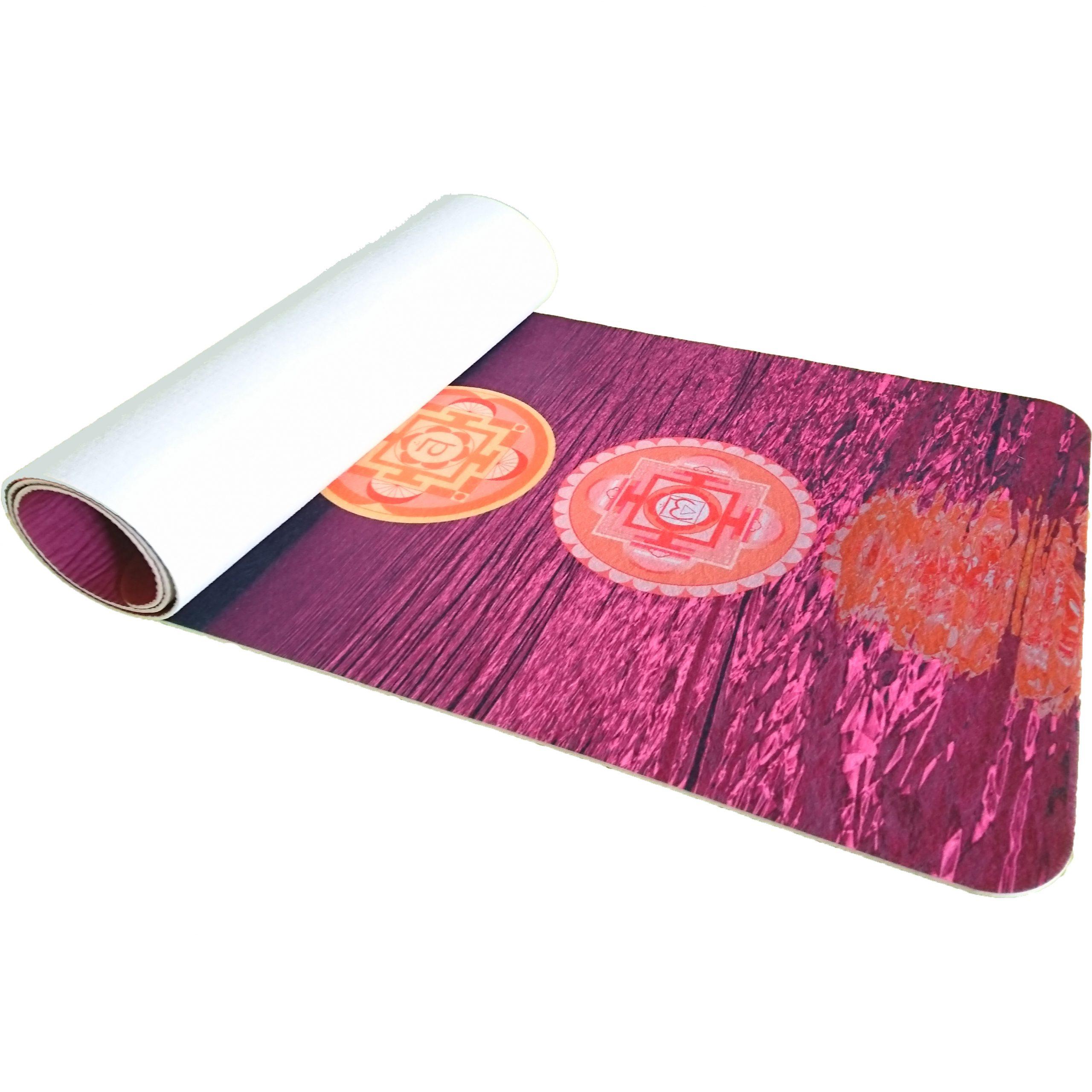 Full color bedrukte fitmess mat goedkoop