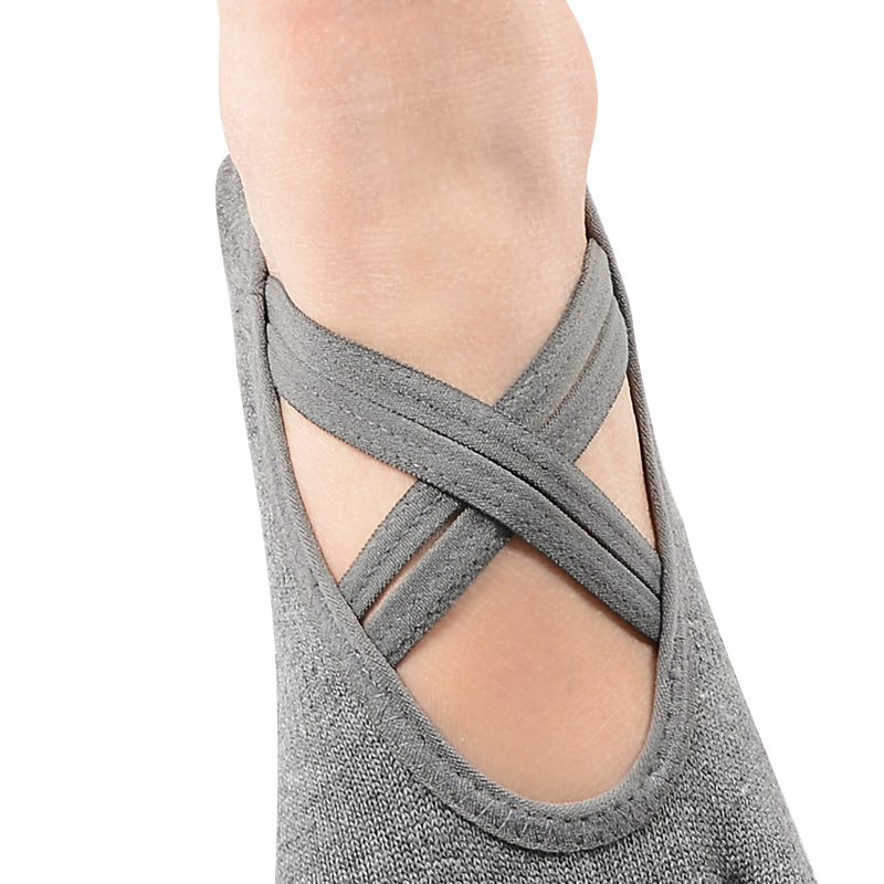 Bedrukte yoga sokken