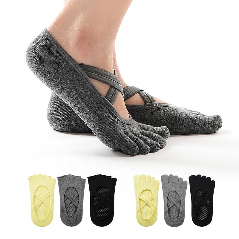 yoga sokken met logo