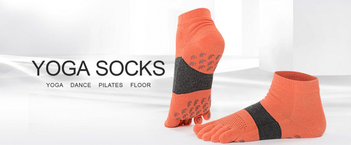 bedrukte yoga sokken met naam bedrukt
