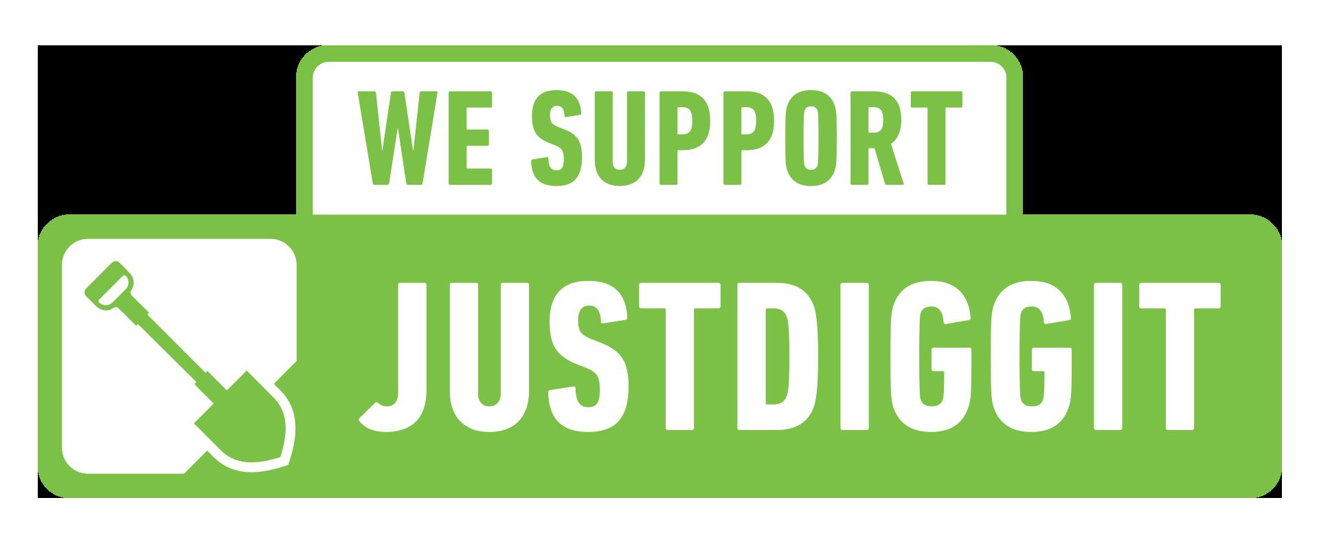 WE support JUSTDIGGIT