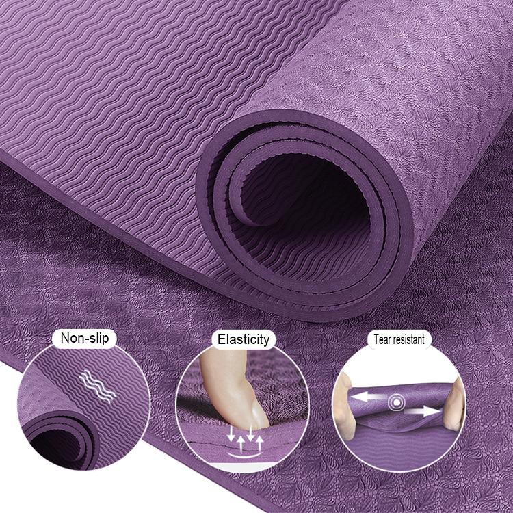 Logo yoga matten bedrukt