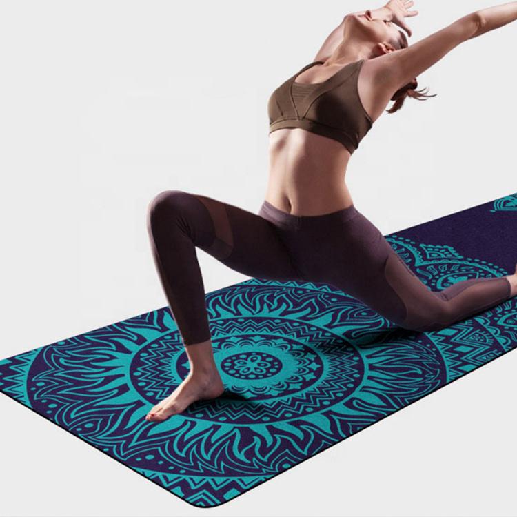 Yoga matten full colour bedrukken eigen ontwerp ECO