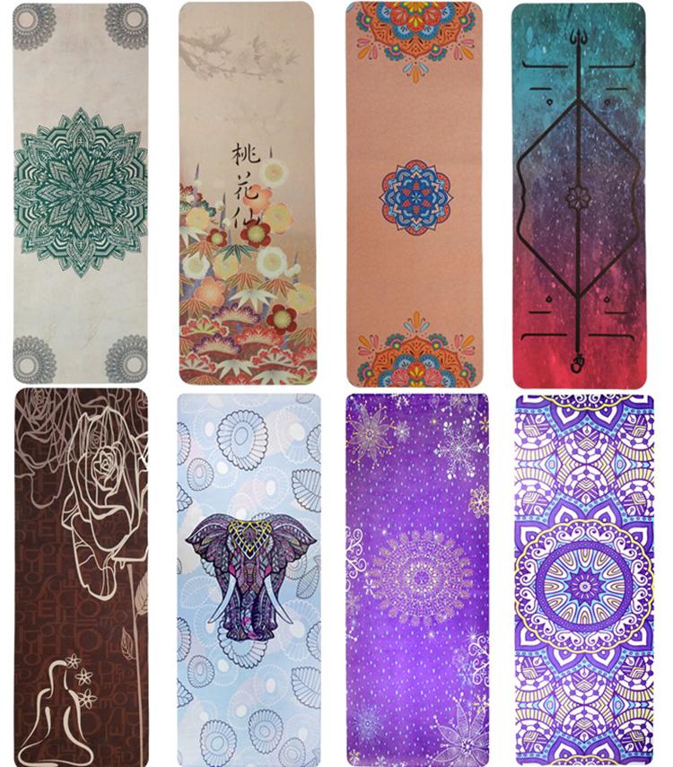 Yoga matten full colour bedrukken eigen ontwerp