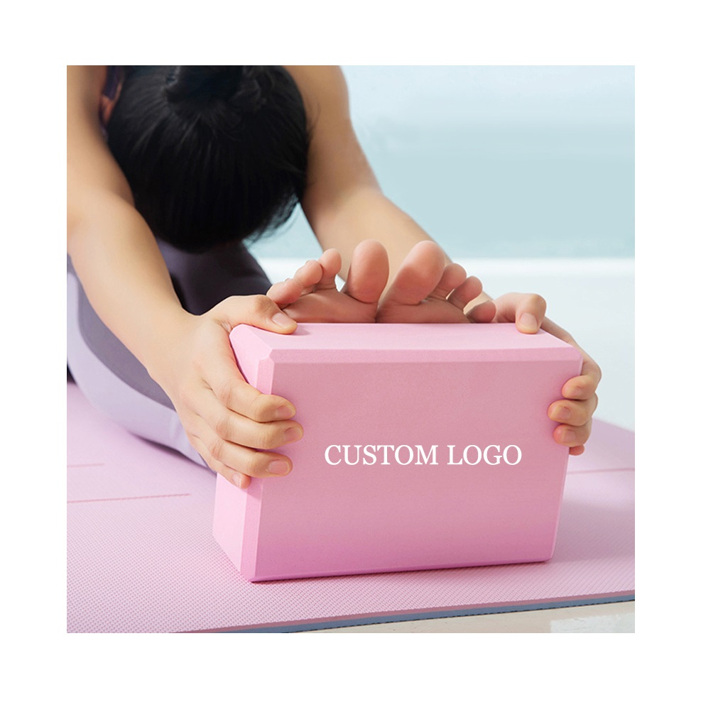 Yogablok bedrukken met logo