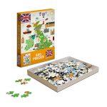 puzzel ontwerpen landkaart